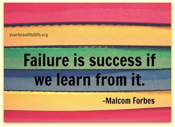 Học hỏi để tránh thất bại là bí quyết để thành công