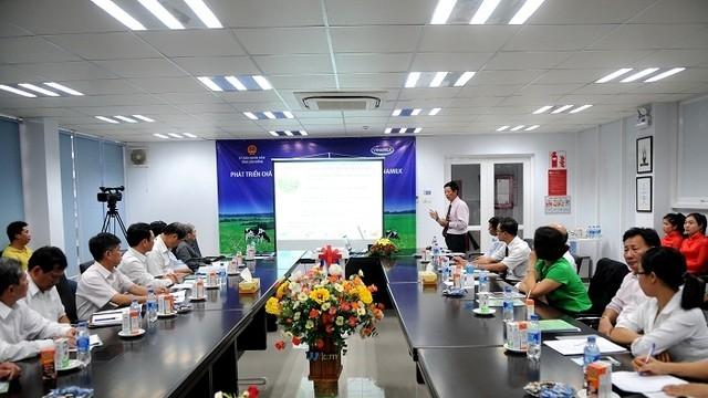 Vinamilk mở rộng chăn nuôi bò sữa tại Lâm Đồng