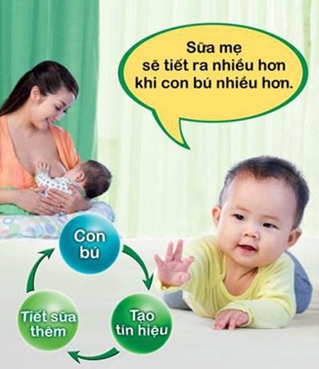 Kinh nghiệm giúp các bà mẹ tăng lượng sữa cho con bú