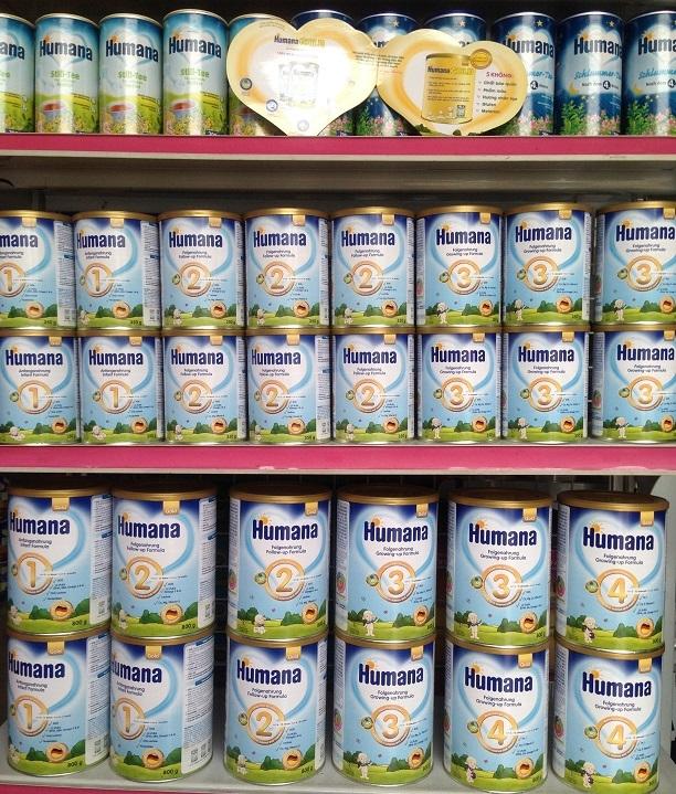 Sữa ngoại nhập khẩu dành cho trẻ sơ sinh dưới 1 tuổi tốt nhất trên thị trường