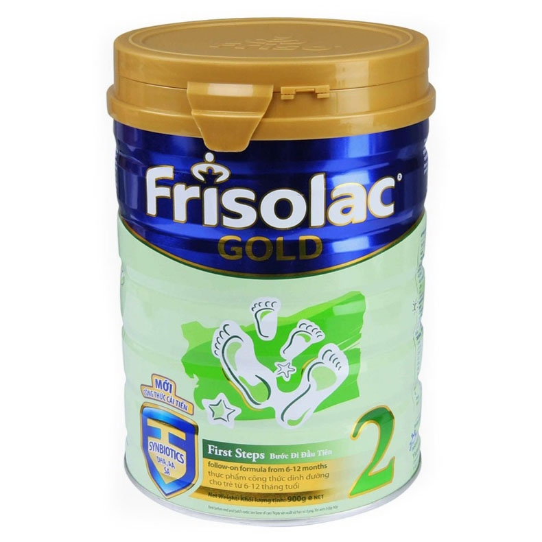 Frisolac Gold số 2 900g (6 - 12 tháng)