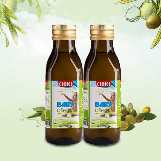 Dầu Oliu cho bé Baby Olive oil 250ml