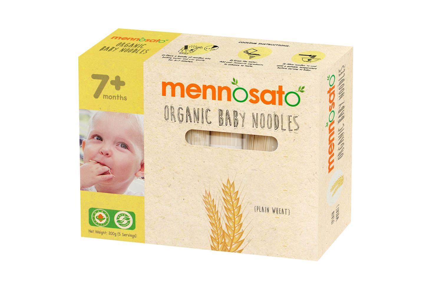Mỳ ăn dặm hữu cơ cho bé vị lúa mỳ 200g