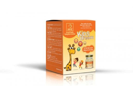 Nước yến Kids Dream Song Yến lọ 70ml (60 lọ/Thùng)