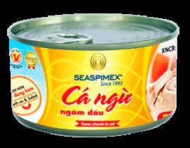 Cá Ngừ Ngâm Dầu 185gr Seaspimex