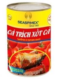 Cá Trích Xốt Cà 155g Seaspimex