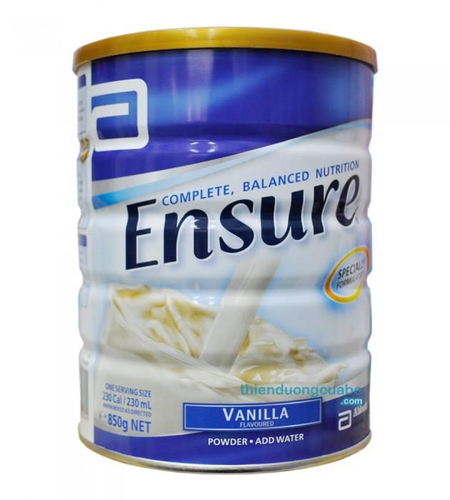 Ensure Vanilla 850gr (Úc)