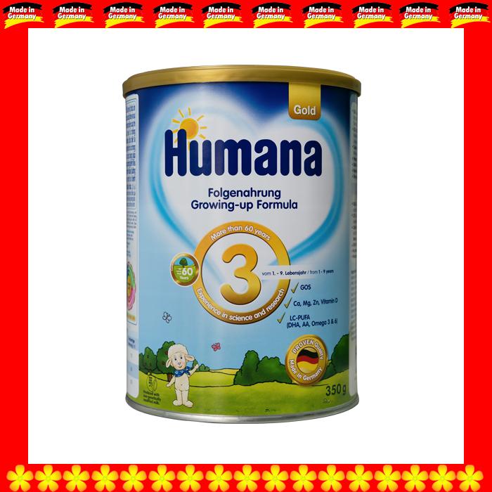 SỮA HUMANA GOLD 3 800 GRAM CHO TRẺ TỪ 01 ĐẾN 09 TUỔI