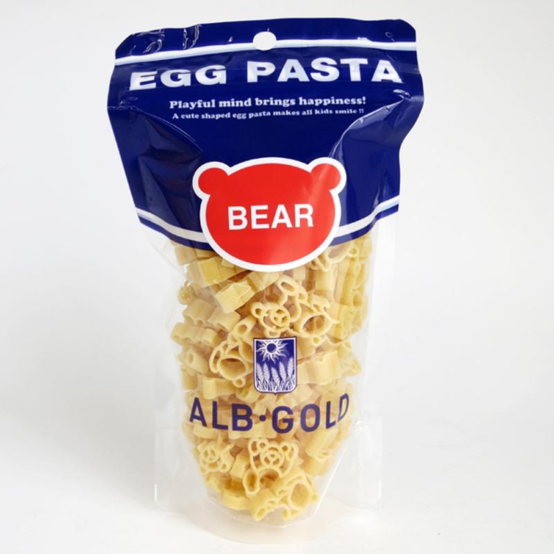 Nui Trứng Egg pasta - ALB Gold (Hình Gấu)