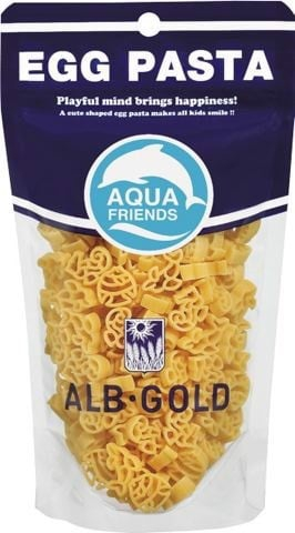 Nui Trứng Egg pasta - ALB Gold (Hình Sinh vật biển)