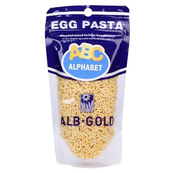 Nui Trứng Egg pasta - ALB Gold (Hình chữ cái ABC) 7 MONTH