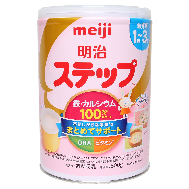SPDD Meiji Step - 800g (12 - 36 tháng)
