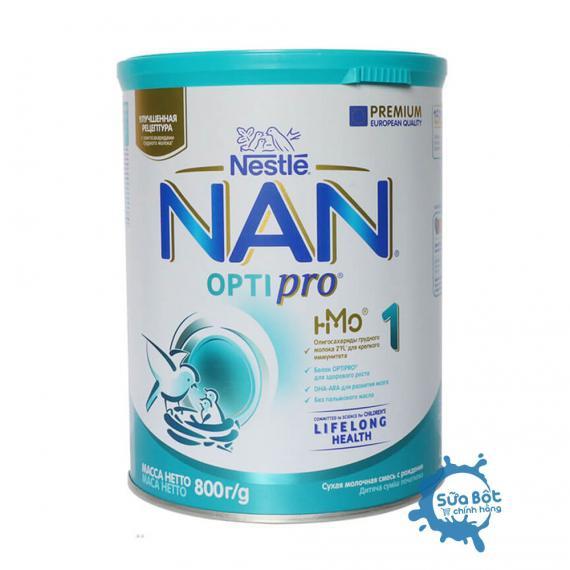 Sữa Nan Nga số 1 800g cho bé từ 0 đến 6 tháng tuổi