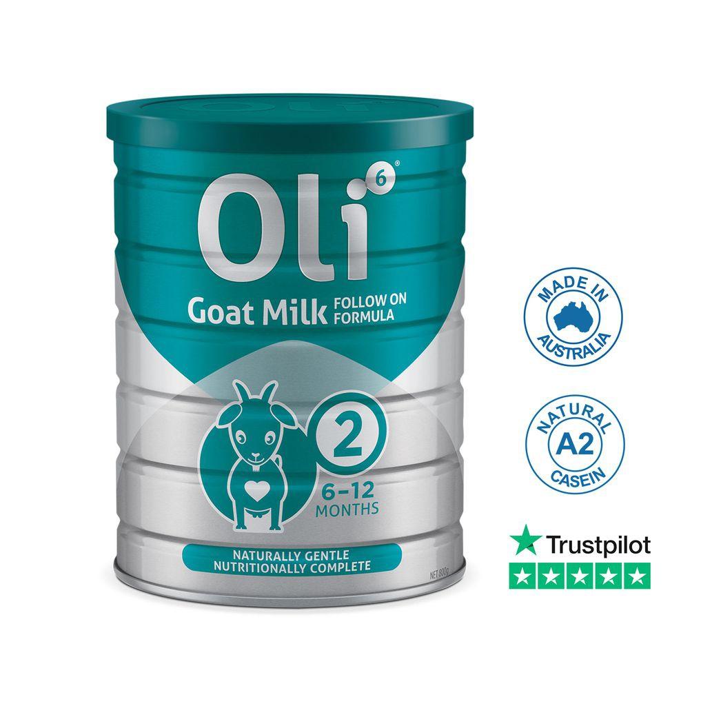 SPDD OLI 6 Goat Milk Follow On Formula 2
