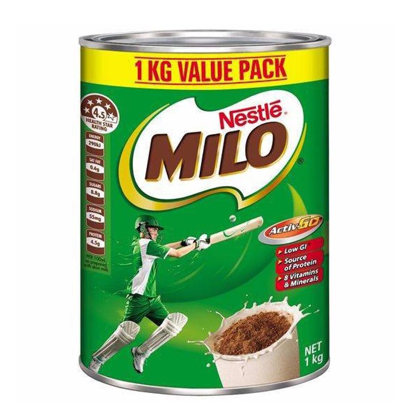 TPBS Nestle Milo 1Kg (Úc)