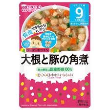 Cháo Wakodo Thịt Heo Hầm, Rau Củ Nhật Bản cho bé 9 tháng