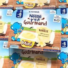 Váng sữa Nestle mini 6*60g 6M