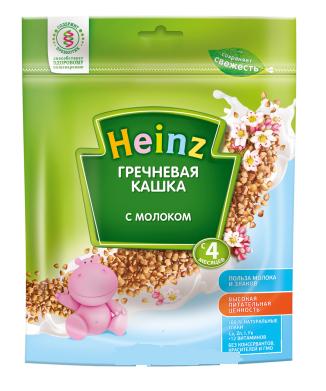 Bột ăn dặm Heinz Nga vị gạo sữa 250g cho bé 4 tháng tuổi