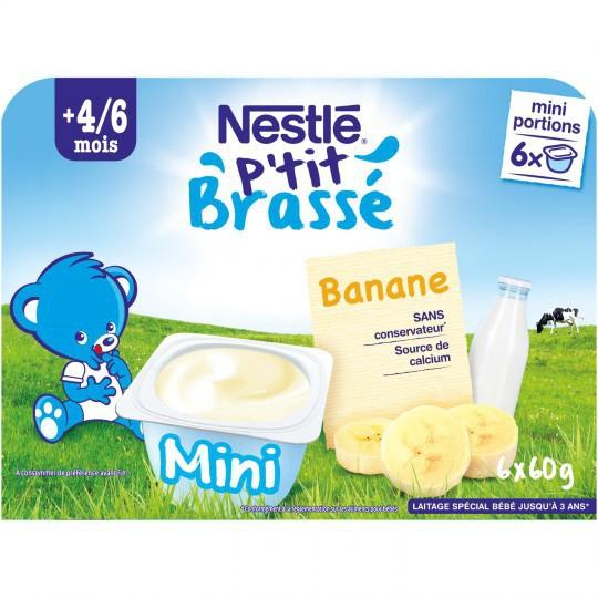 Váng sữa Nestle vị Chuối 4/6M