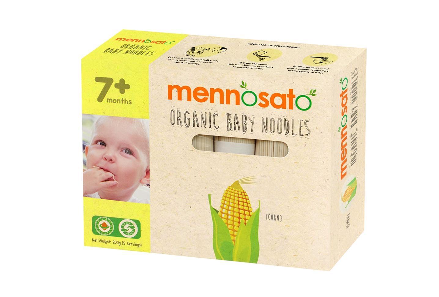 Mỳ ăn dặm hữu cơ cho bé vị ngô 200g