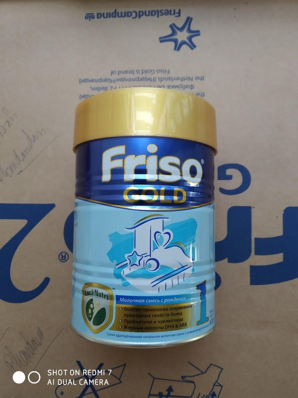 SPDD công thức sữa Frisolac gold 1 400g (Lon)
