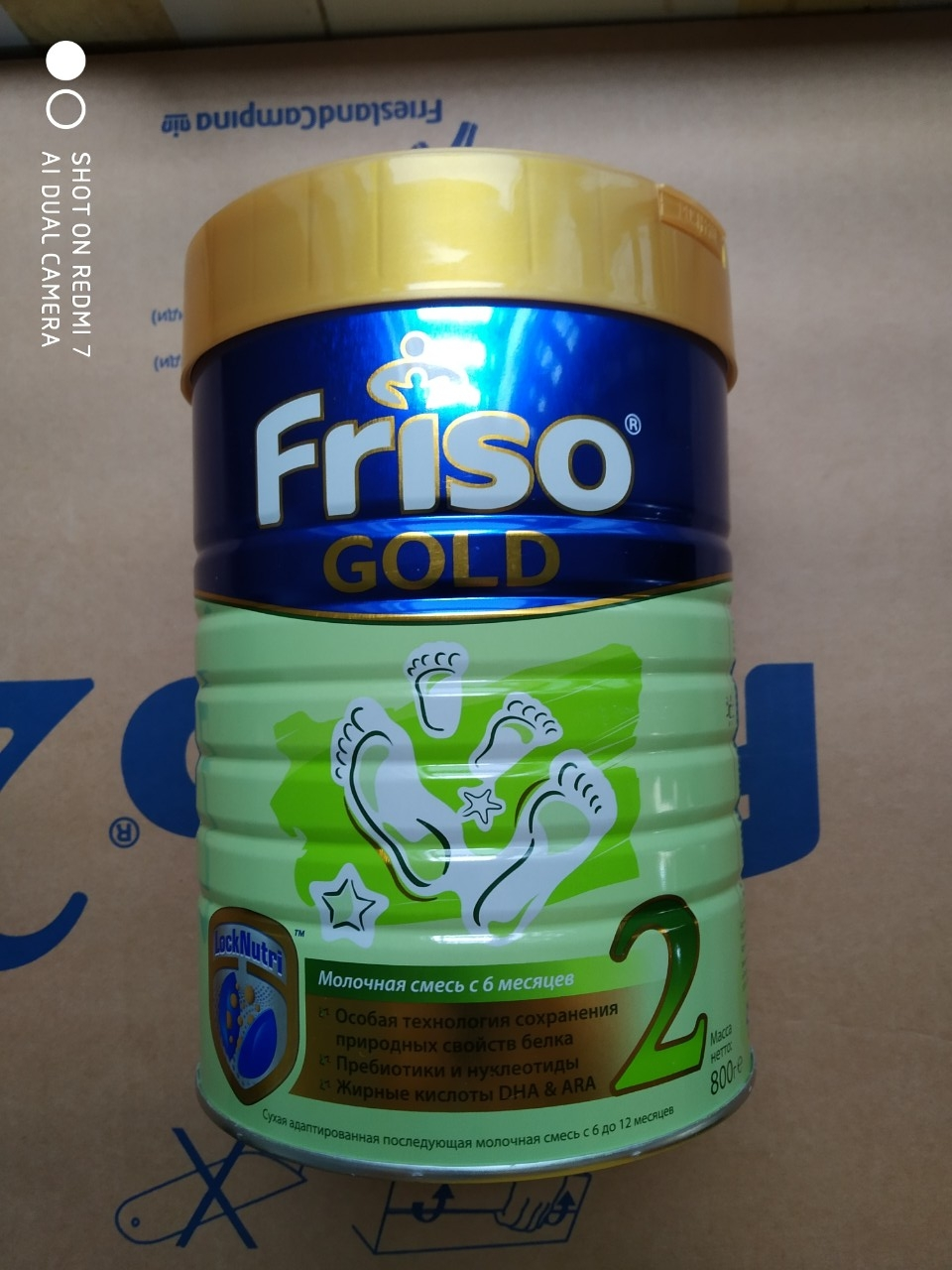 SPDD công thức sữa Frisolac gold 2. 800g (Lon)