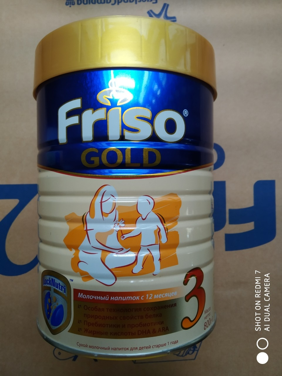 SPDD công thức sữa Friso gold 3. 800g (Lon)