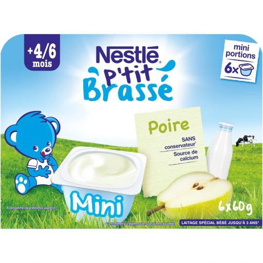 Váng sữa Nestle vị Lê 4/6M