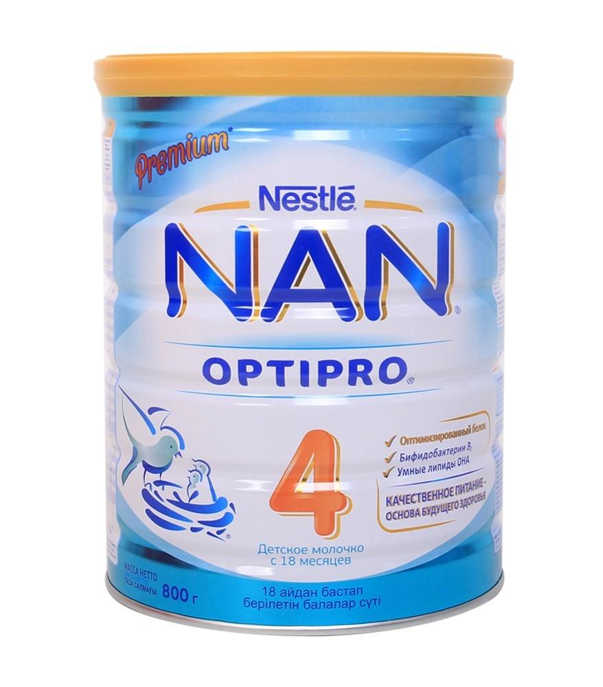 Sữa Nan Nga số 4 800g cho bé từ 18 tháng trở lên