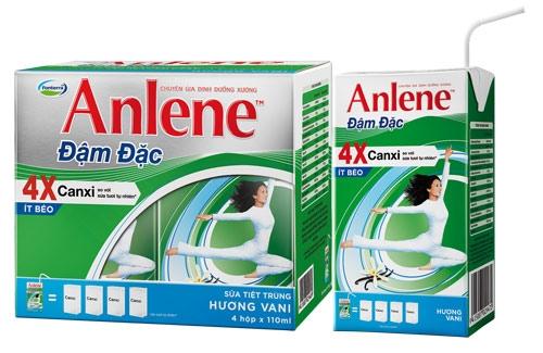 Sữa tươi Anlene 110ml ( 1 lốc 4 hộp )