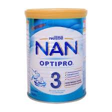 Sữa Nan Nga số 3 400g cho bé từ 12 đến 36 tháng tuổi