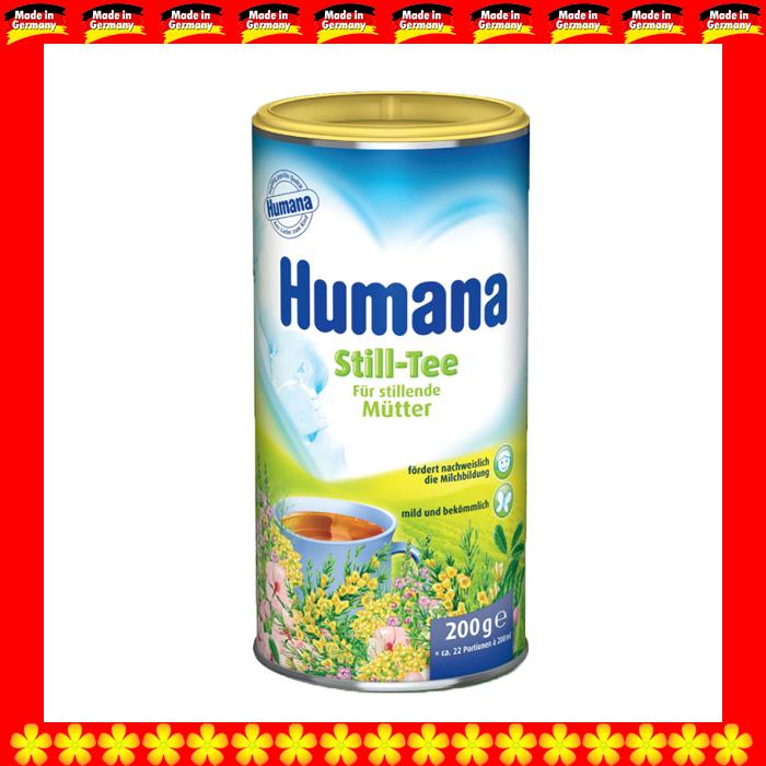 Trà cốm tăng tiết sữa Humana (trà thảo dược Hòa tan)