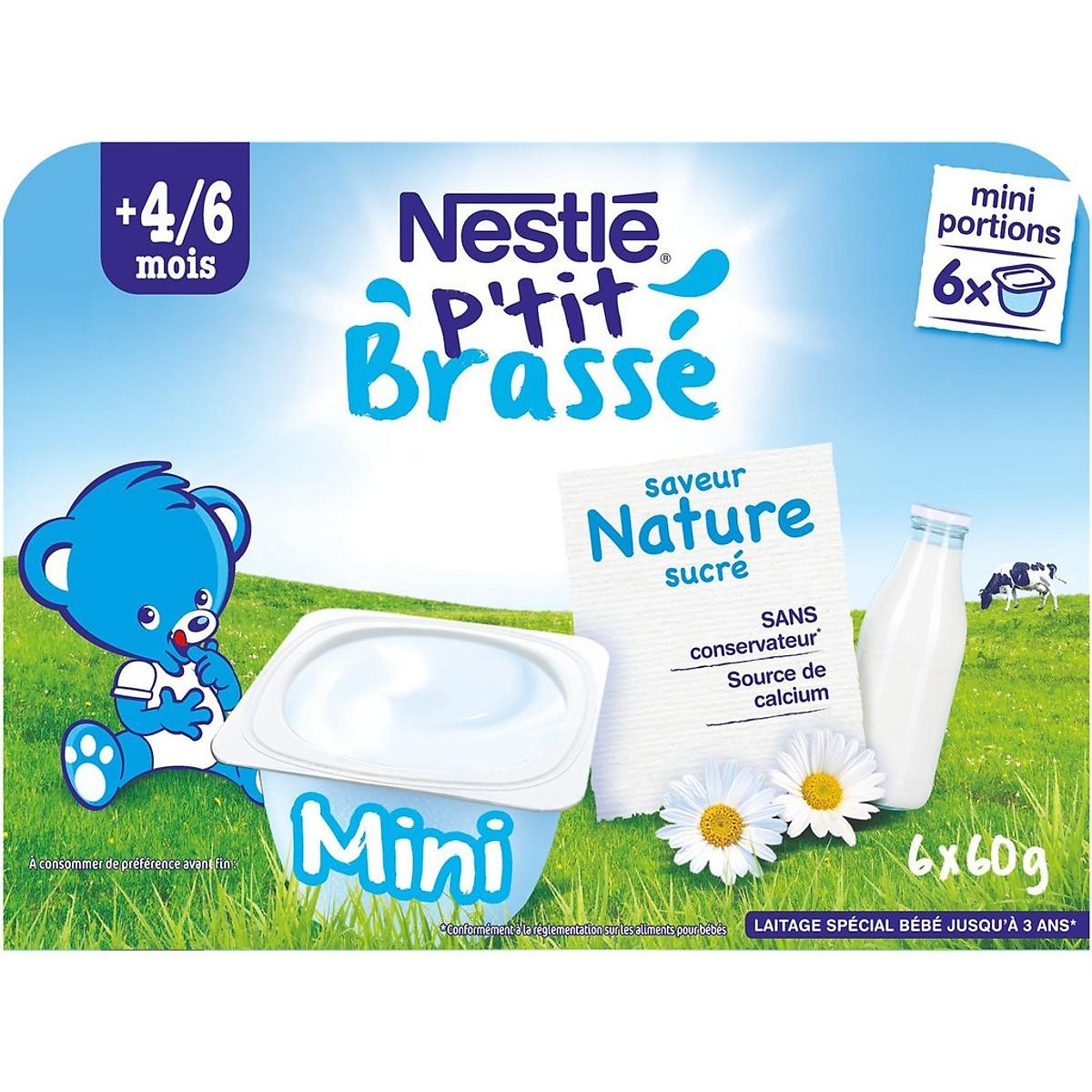 Váng sữa Nestle vị Tự nhiên 4/6M