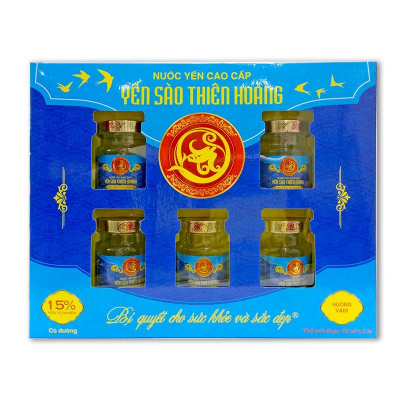 YTH CC 15% hộp 6 lọ x70ml - Hương Vani (5 hộp/thùng)