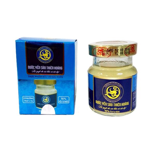 YTH CC Hương Vani - 15% yến lọ 70ml (60 lọ/thùng)