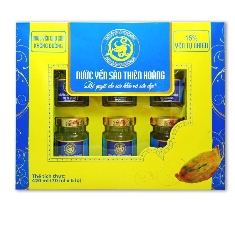 YTH CC không đường 15% hộp 6 lọ x70ml (5 hộp/thùng)